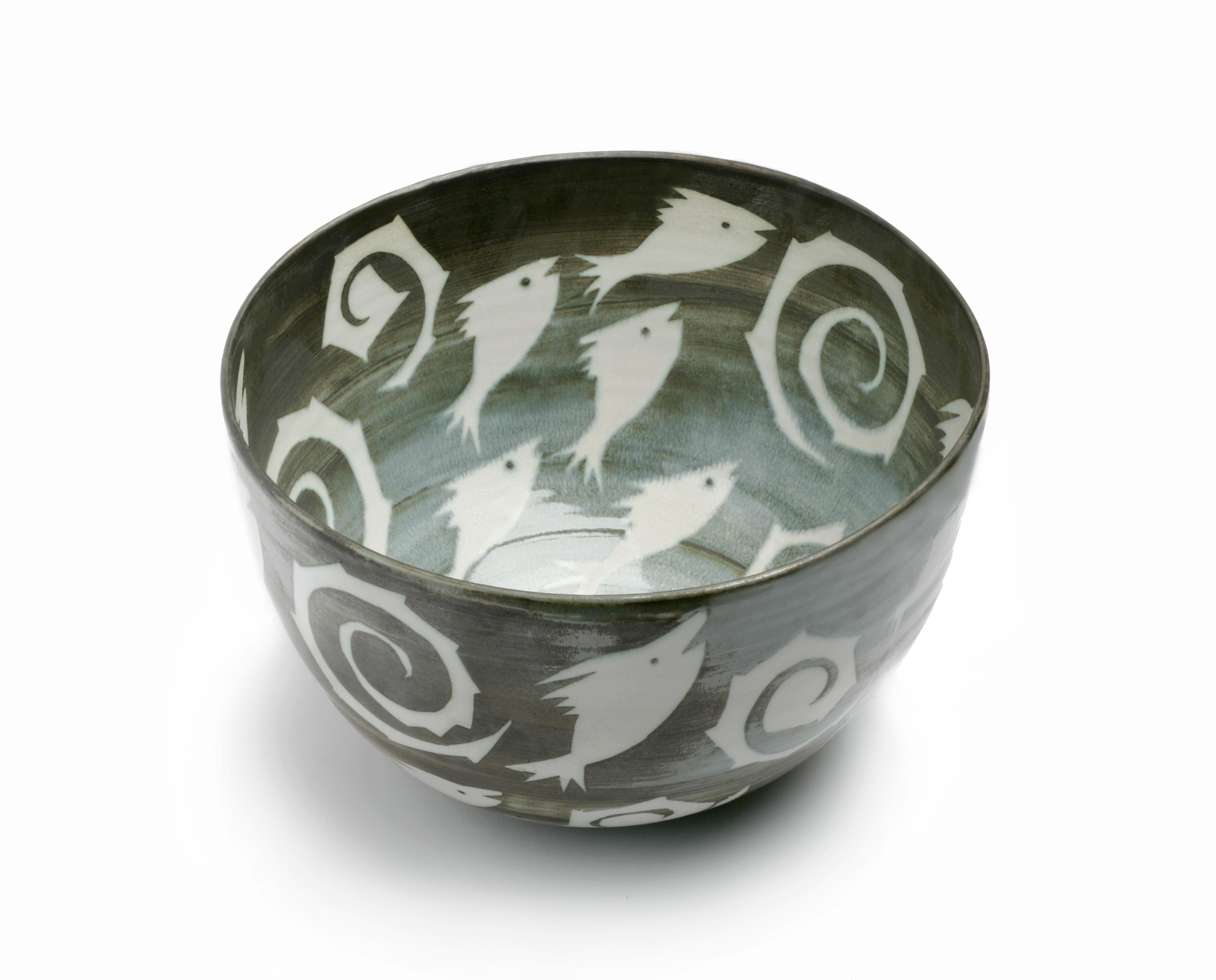 fih bowl with spirals